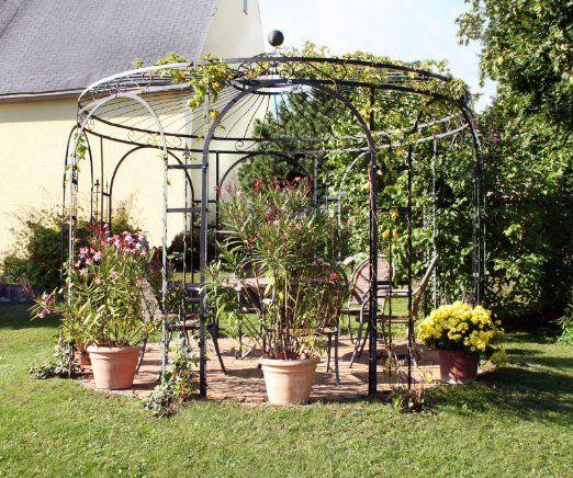 gartenlaube garten pavillon rosenpavillon pavillon eisen pavillon metall rund holland 350. Black Bedroom Furniture Sets. Home Design Ideas
