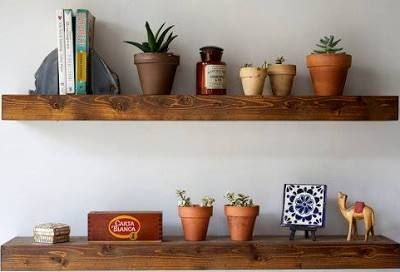 Floating Shelf Set - Reclaimed ...