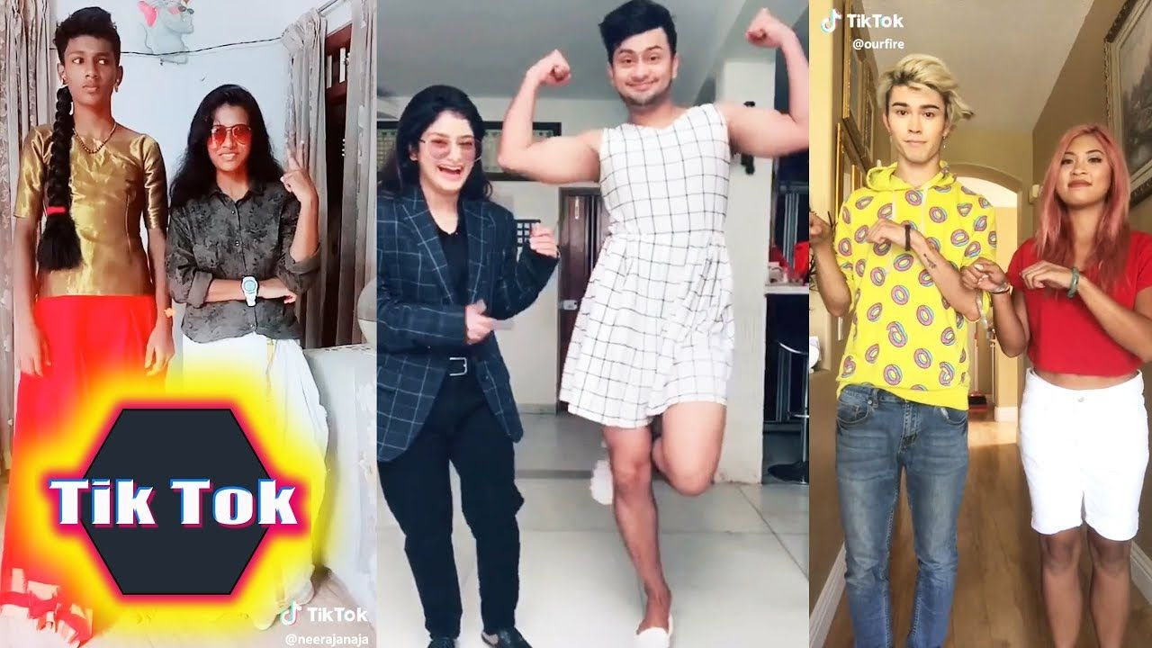 Clothes Swap Challenge / Funny TikTok videos compilation
