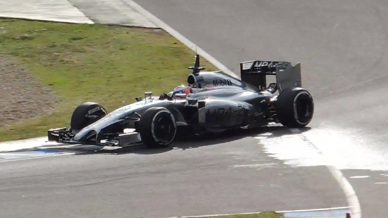F1 2014 Jenson Button McLaren MP4 29 (Circuito de Jerez)