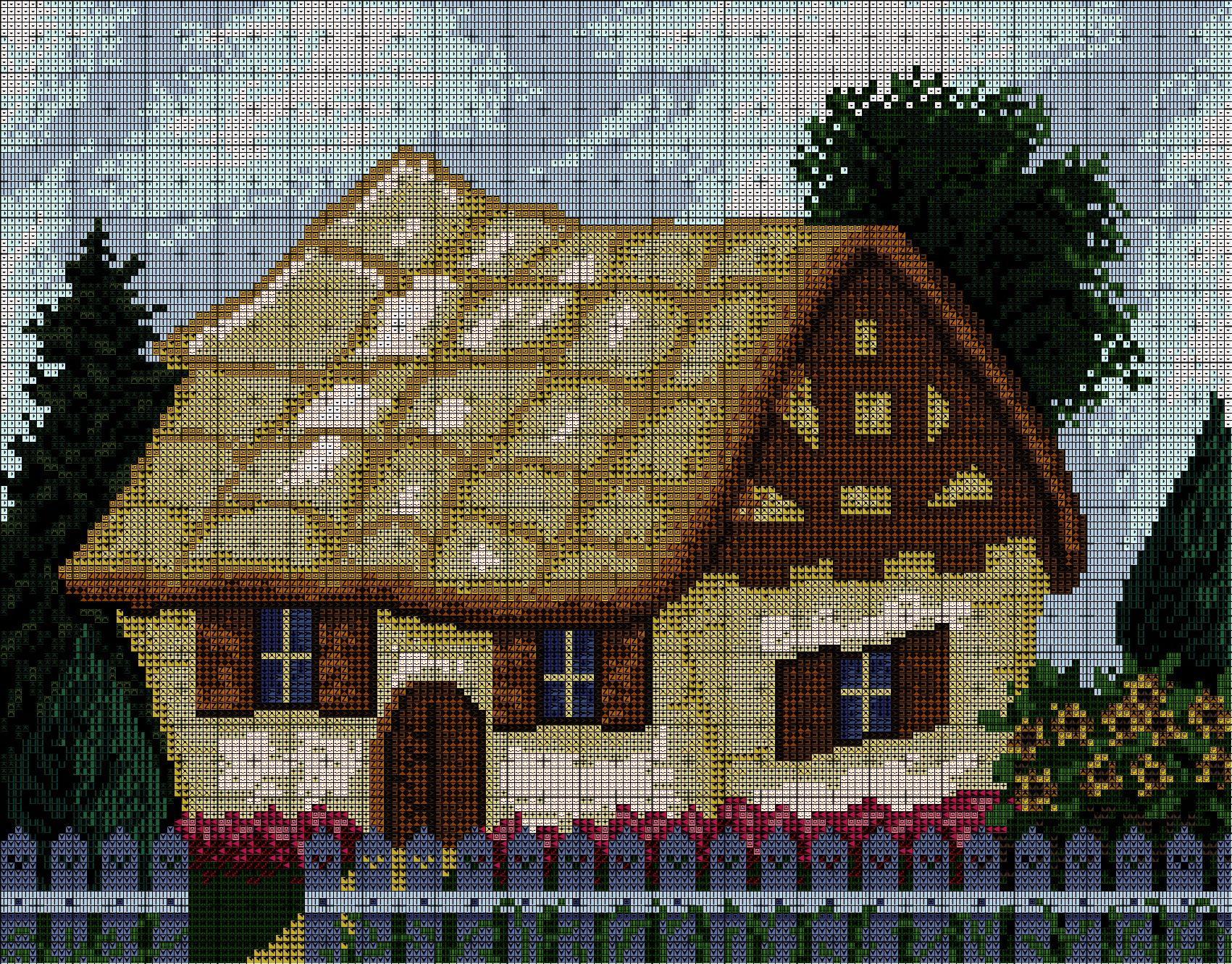 seven dwarfs cottage