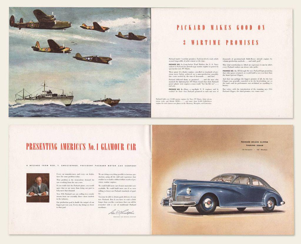 1946 Packard Clipper Brochure | Cars