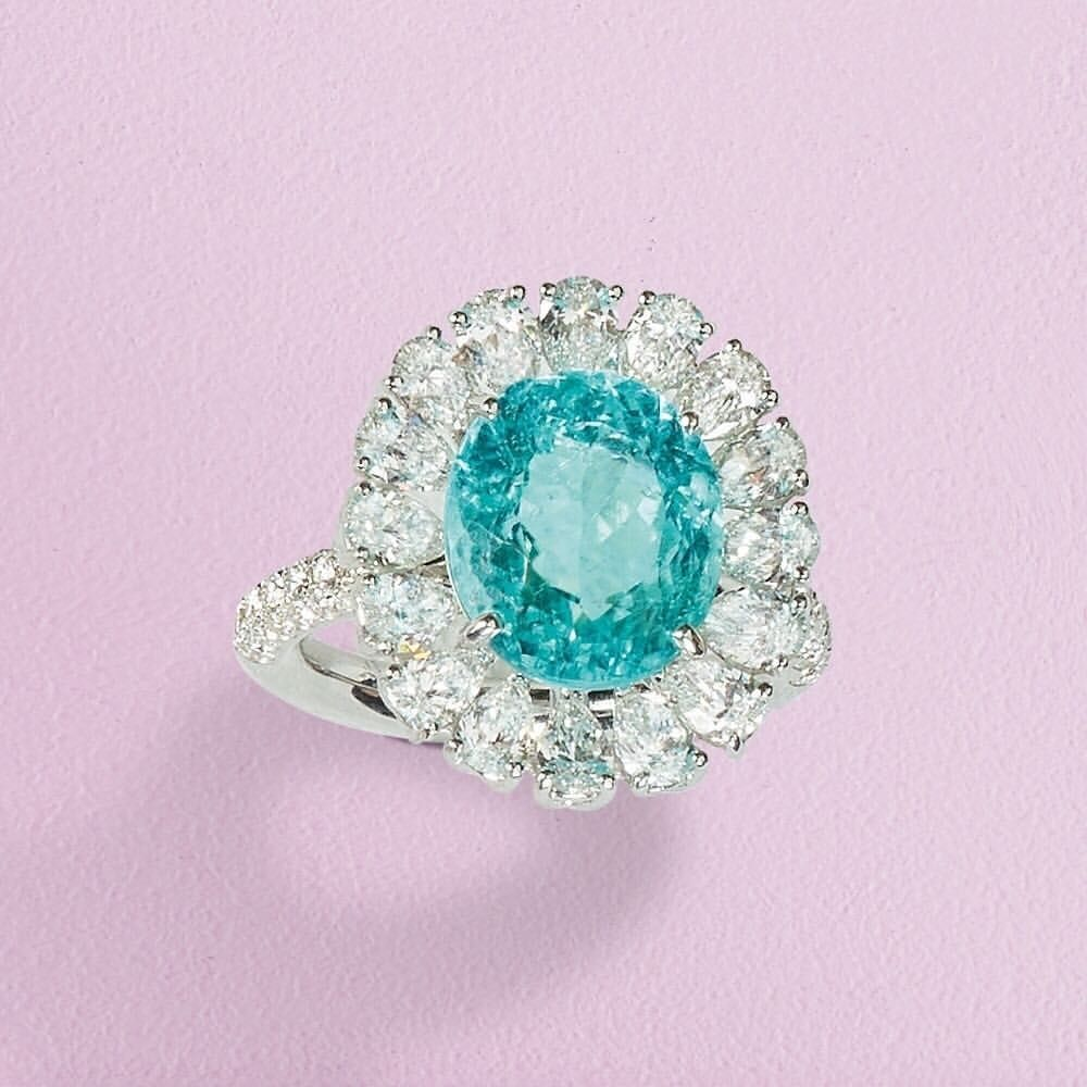 CRIVELLI (@crivelliofficial) on Instagram: Rare blue: ring made of ...