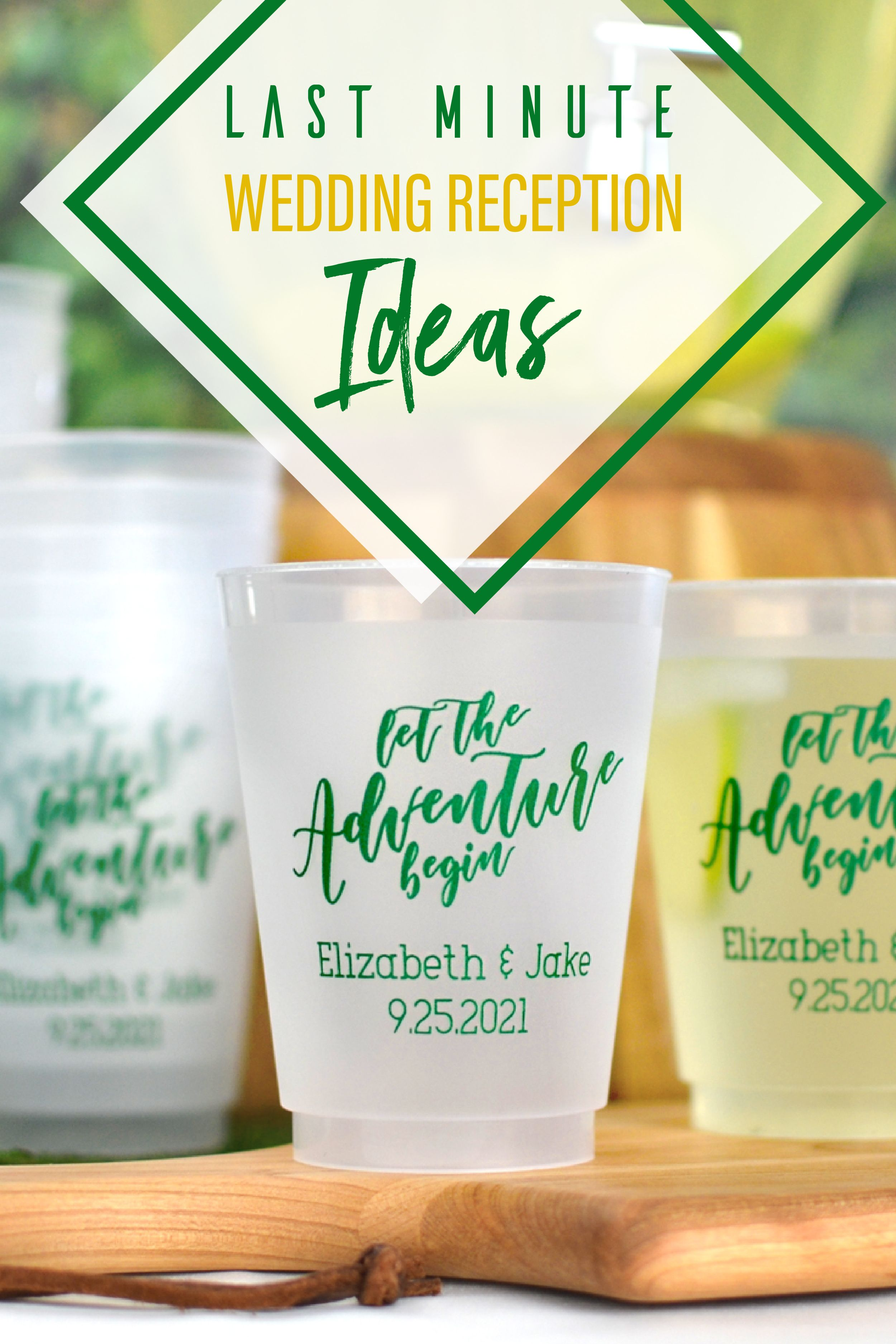 16 Oz Reusable Custom Printed Frosted Plastic Cups Set Of 25 In