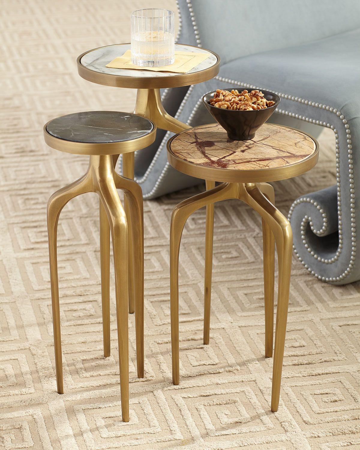 Regina Andrew Mixer Tables Set Copper Accent Table Table Settings Coffee Table Design [ 1500 x 1200 Pixel ]