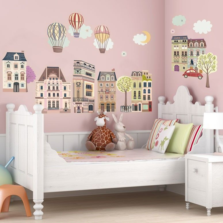 "Old Room At Dusk: Perfect For Gals Young And Old, ""Sweet Street At Dusk"