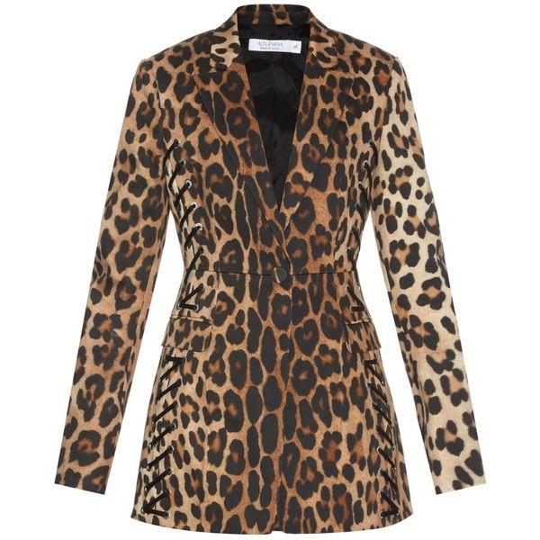 Altuzarra leopard print tailored coat Affordable Cheap Online Hot Sale Outlet Visa Payment Buy Cheap Cheapest Price fUGJ6Lm