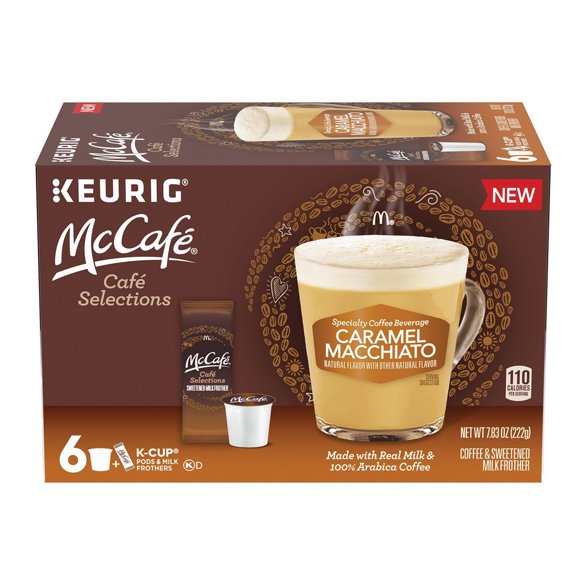 Box Of McCafé 2-Step K-Cups Caramel Macchiato