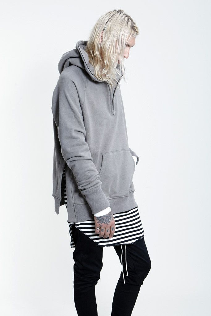 Fear of God LS Half Zip Essential Hoodie | Follow @FILET