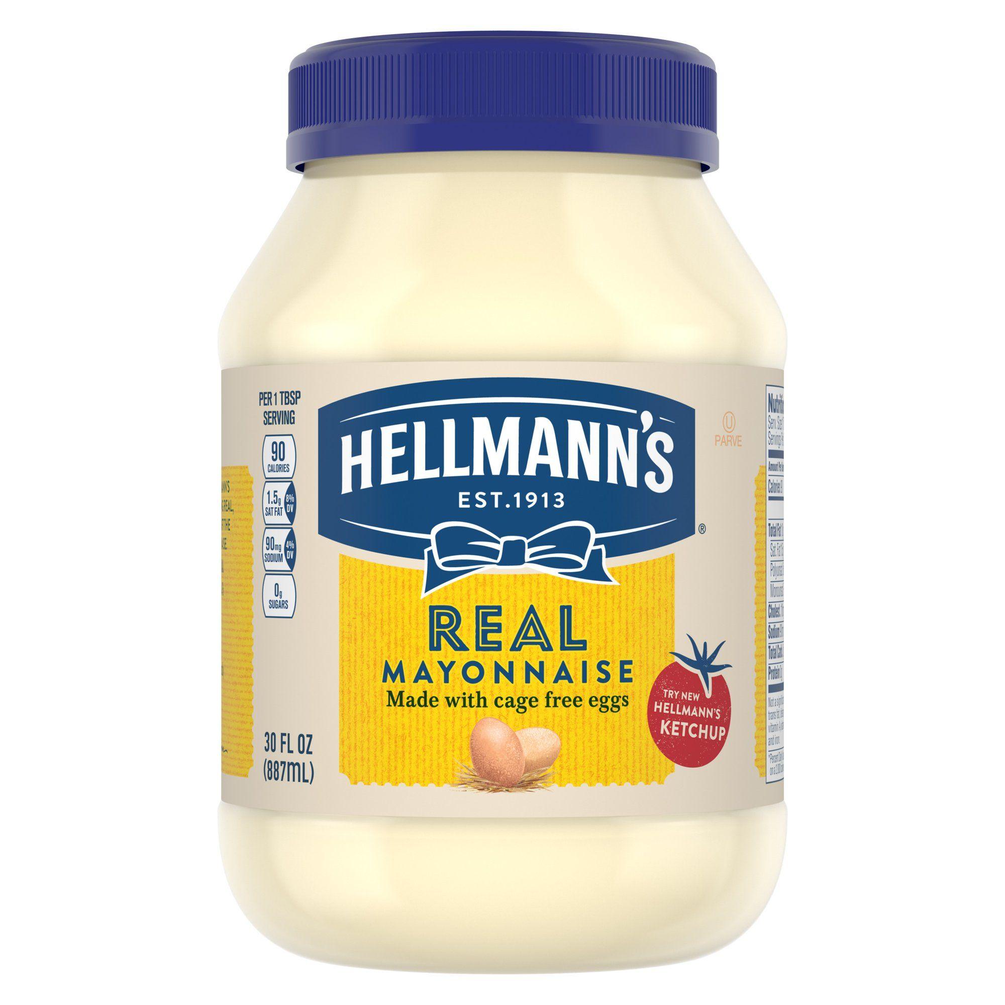 Hellmann's Mayonnaise Real Mayo 30 oz in