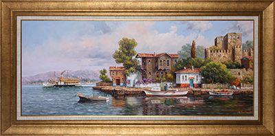Anadolu Hisarı (Barış Çalışkan) | Yağlı Boya Tablo