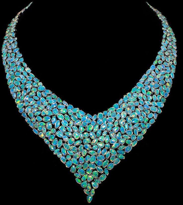 Australian opal  V n beauty bling jewelry fashion
