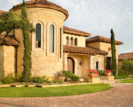 Classic style villa design hunterwood tuscan villa for Small tuscan home designs