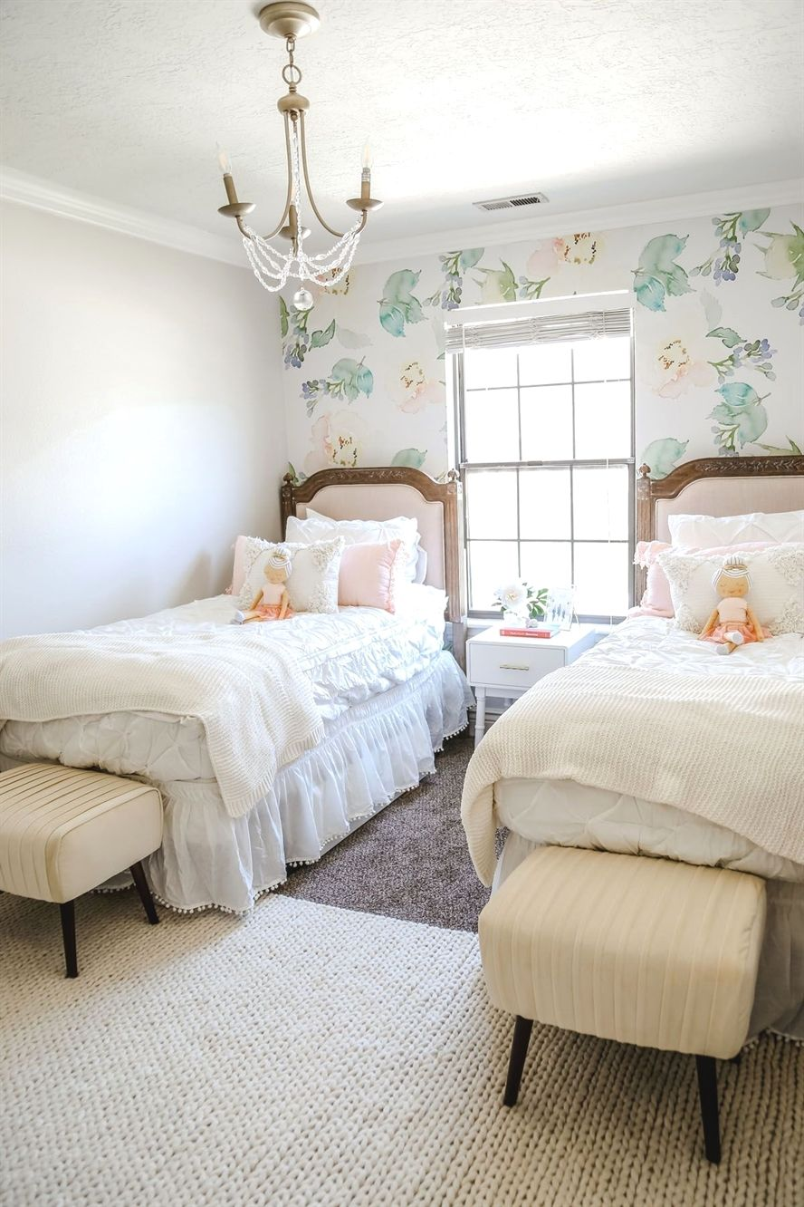 I Want A Non Toxic Room For My Baby Shared Girls Room Shared Girls Bedroom Big Girl Bedrooms