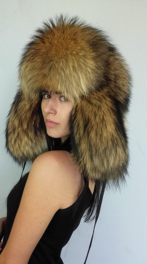 bcd0907c1d4cd Real finn raccoon trapper hat