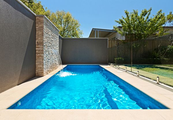 Small 6 metre long rectangle pool in Lake Wendouree