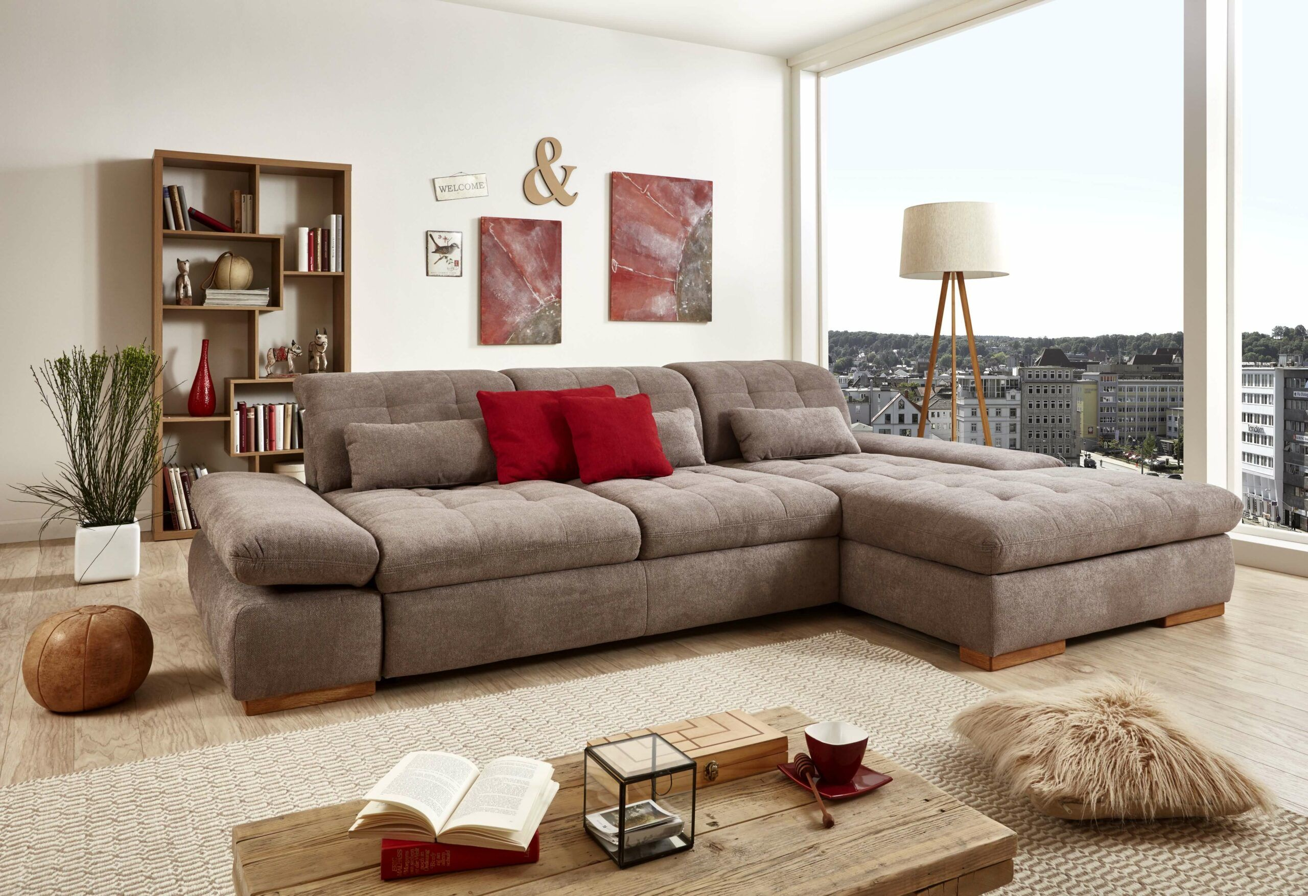 Trendige Couchgarnituren 3+ Couchgarnitur Wohnzimmer | Home Decor, Sectional Couch, Furniture