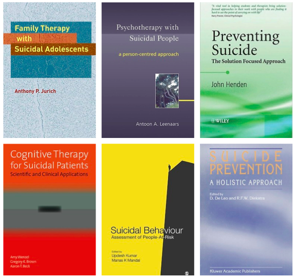 Free Suicide Prevention Books For Clinicians Send Me An E Mail