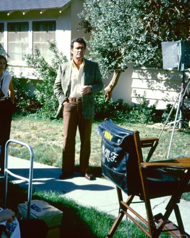 On the set of the Rockford Files