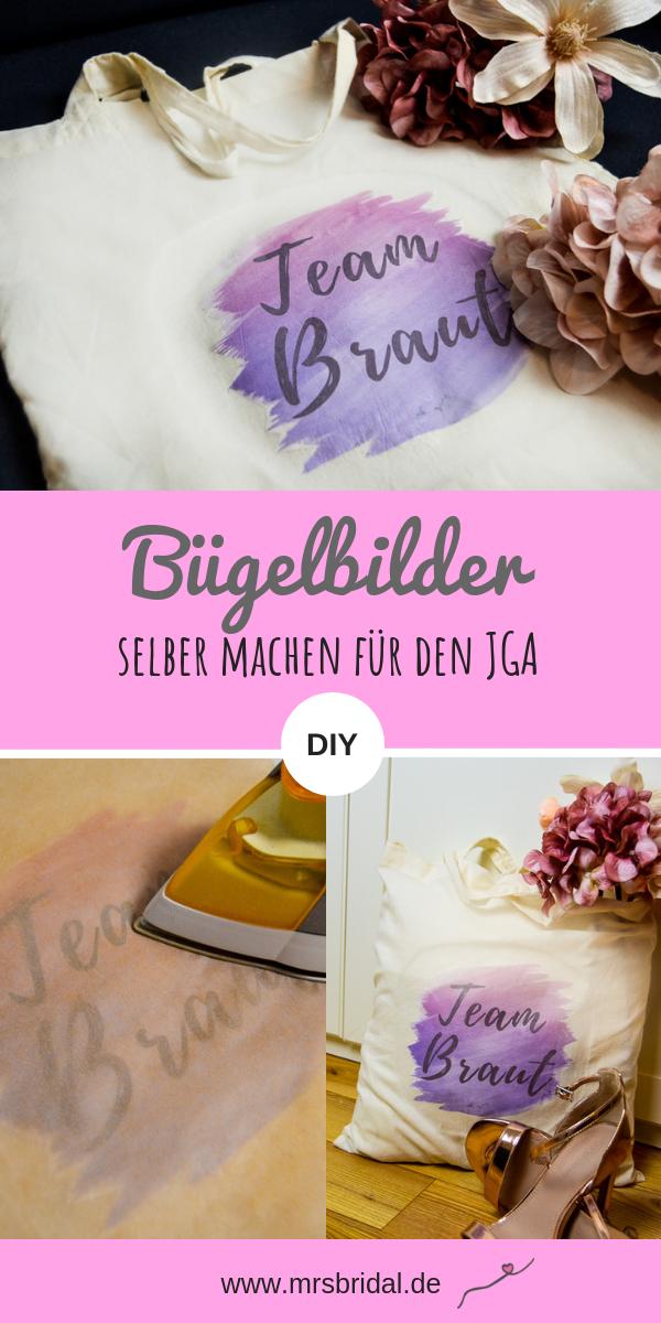 Bügelbilder selber machen für Junggesellenabschied – Ein kreativer DIY Hochzeitsblog