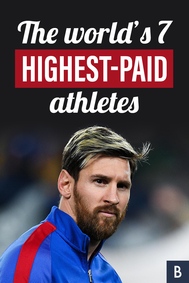 The world's 7 highestpaid athletes Athlete, Frugal tips