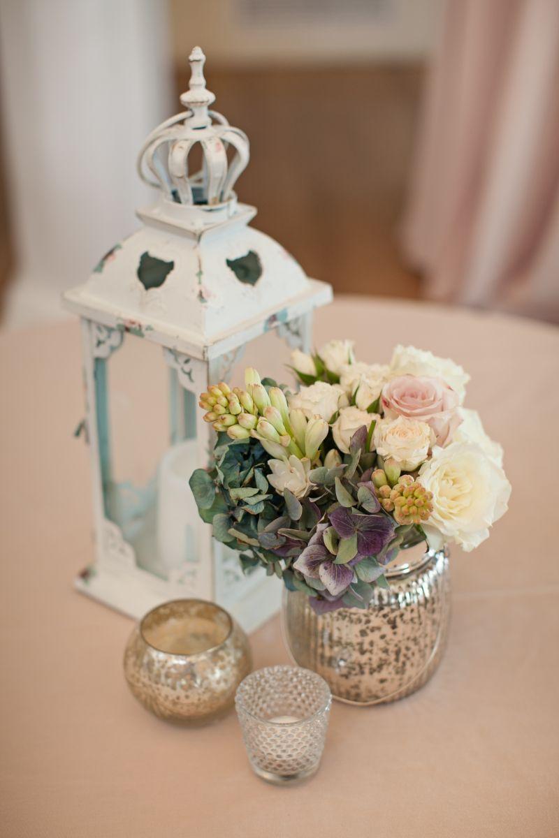 Autumn and Pete's Romantic Vintage Wedding Reception