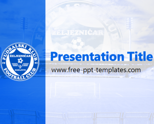 most professional powerpoint template - fk eljezni ar powerpoint template is a blue template with