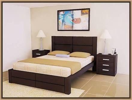 Resultado de imagen para camas de madera matrimoniales - Camas matrimoniales modernas ...