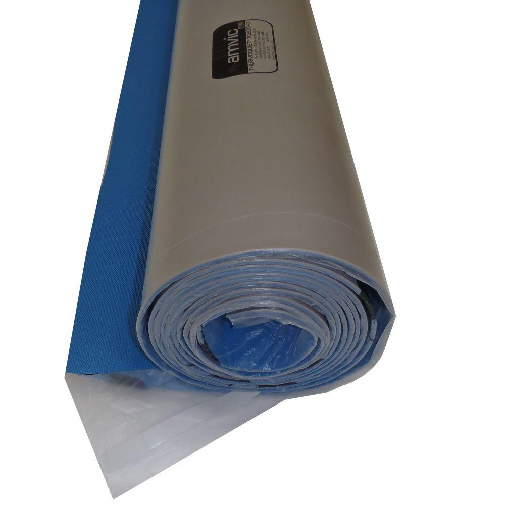 Thermoquiet Roll Underlayment, Heated concrete floor