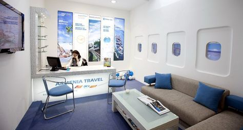 Zara Design Yerevan Armenia Travel Agency Interior Category