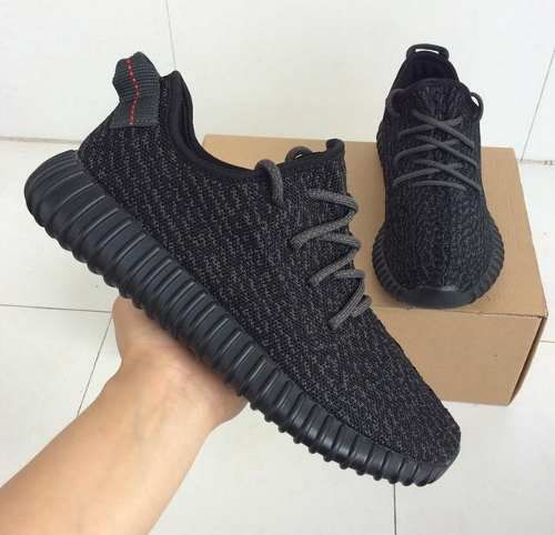 outlet store 0047f 7635b zapatillas adidas yeezy 350 boost pirate black, en caja nmd