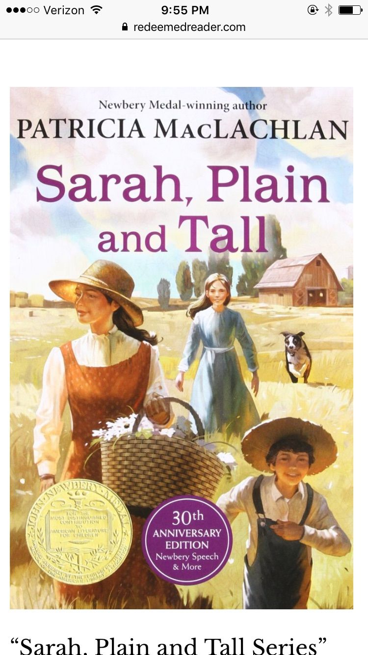 39++ Sarah plain and tall book online information
