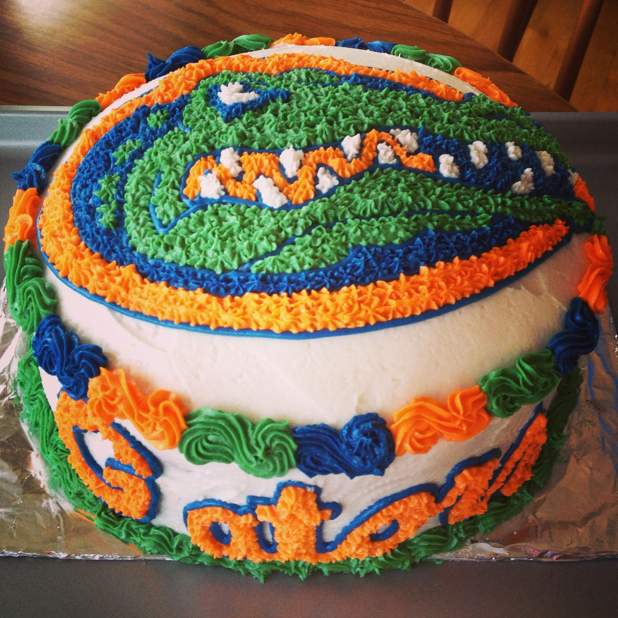 Florida Gators Cake My Cakescupcakescookies Pinterest Cake