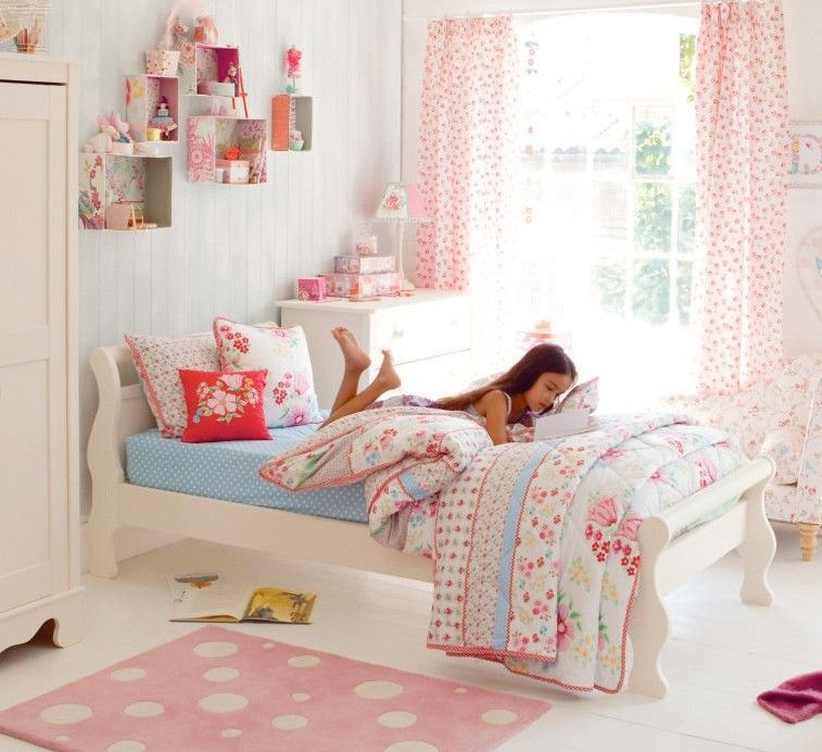The Sort Of Bed She Ll Know In An Instant Is Meant To Be Hers Carefully Crafted From Solid Pin Funky Bedroom Kids Interior Design Childrens Bedroom Furniture