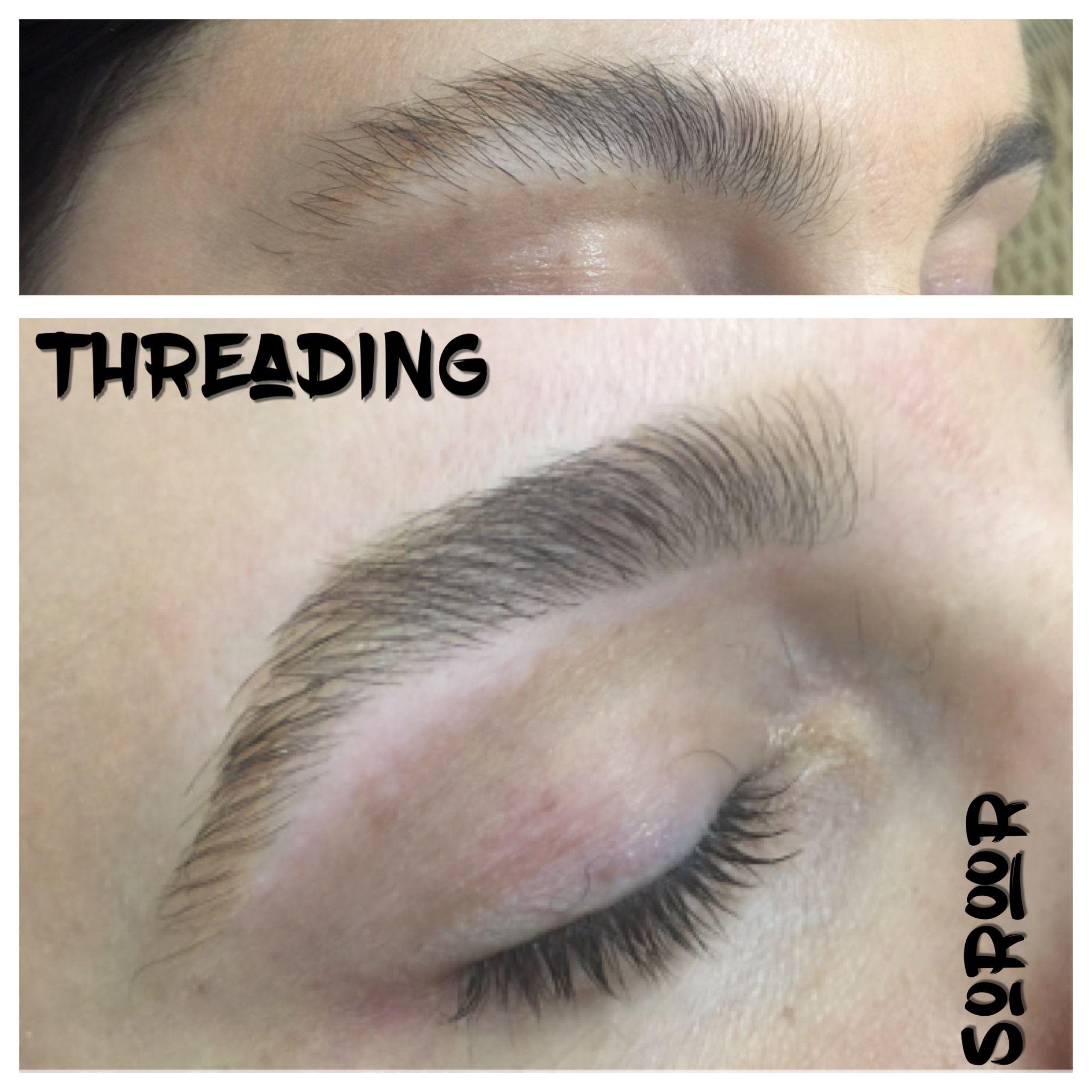 Pin by Soroor Beauty on Eyebrows threading   Threading ...