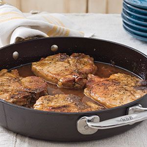 Pork Chops with Pepper Jelly