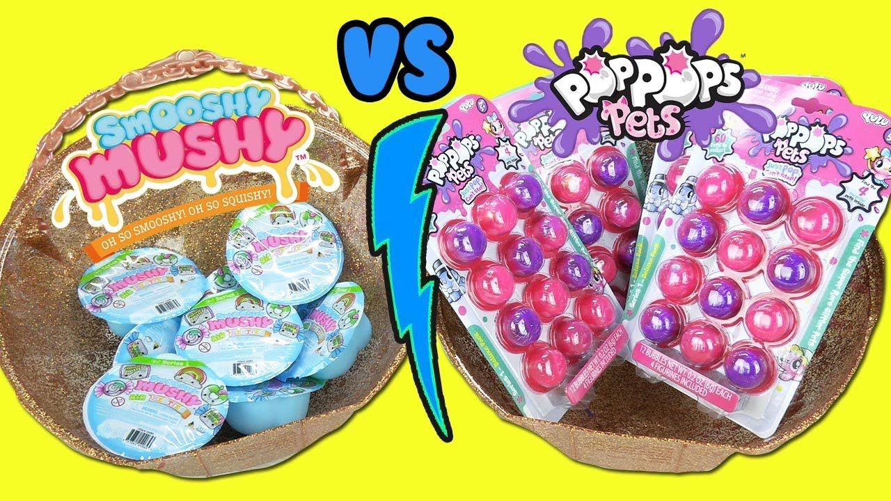 Would You Rather Lol Big Surprise With Pop Pops Pets Slime Toys Vs Smoo Slime Toy Slime Would You Rather