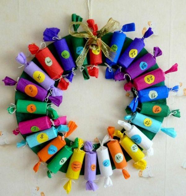Fesselnd Adventskalender Selbst Gestalten  Einfache Bastelideen Für Weihnachten