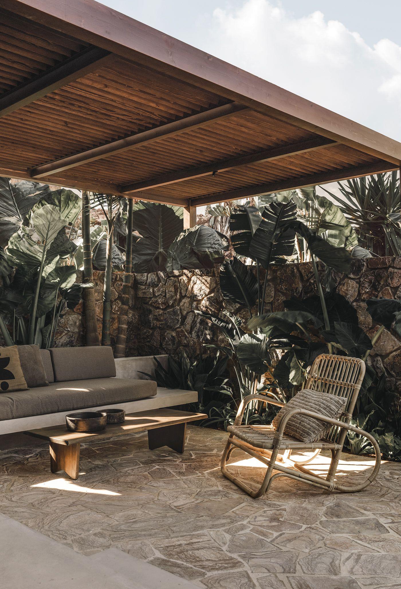 Casa Cook Chania on Behance | Terrace & Outdoor in 2019 | Design ...