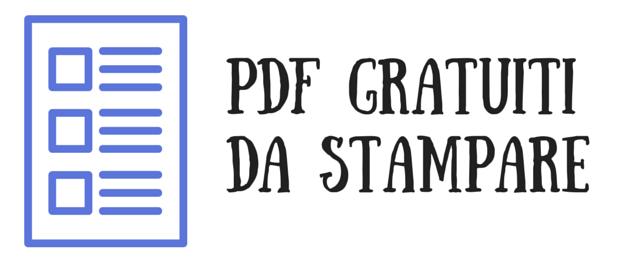 PDF gratuiti da stampare by Nata Disorganizzata