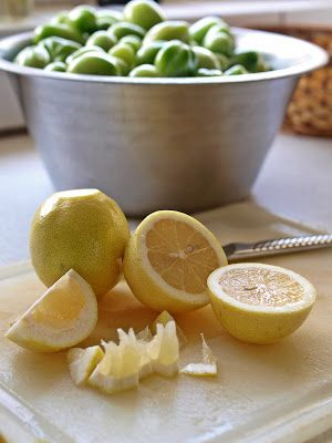 Havelyst - spis din have: marmelade af grønne tomater og citroner...
