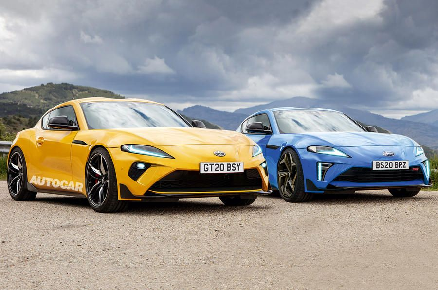 Next Gen Toyota Gt86 And Subaru Brz Coming With More Power In 2020 Toyota Gt86 Subaru Brz Toyota