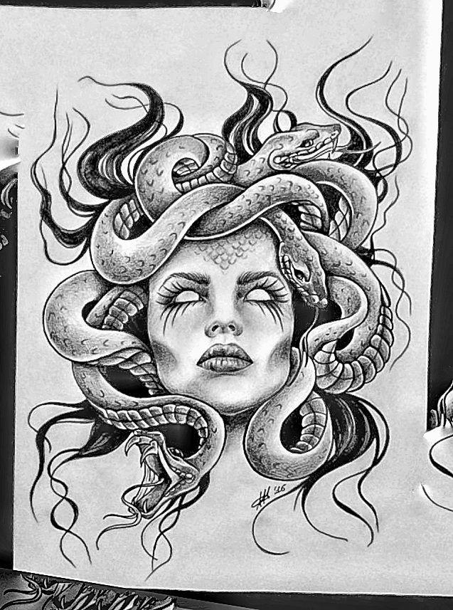 Medusa Artwork Tattoo: Пин от пользователя Elwood Mitchell на доске EGYPTOLOGY