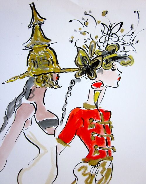 Fashion Illustrator and mentor Gladys Perint Palmer