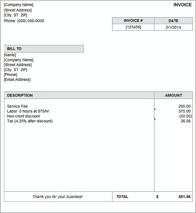 basic invoice template , Basic Invoice Template and General - easy invoice template