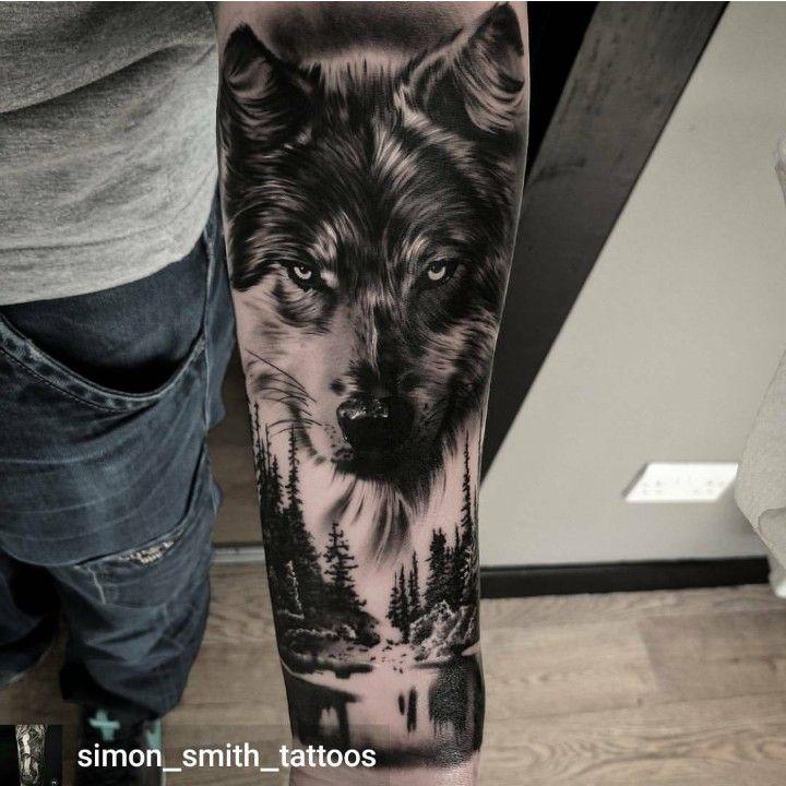 Pin De Alfonso Aranda En Tattos Tatuajes De Lobos Tatuajes Brazo