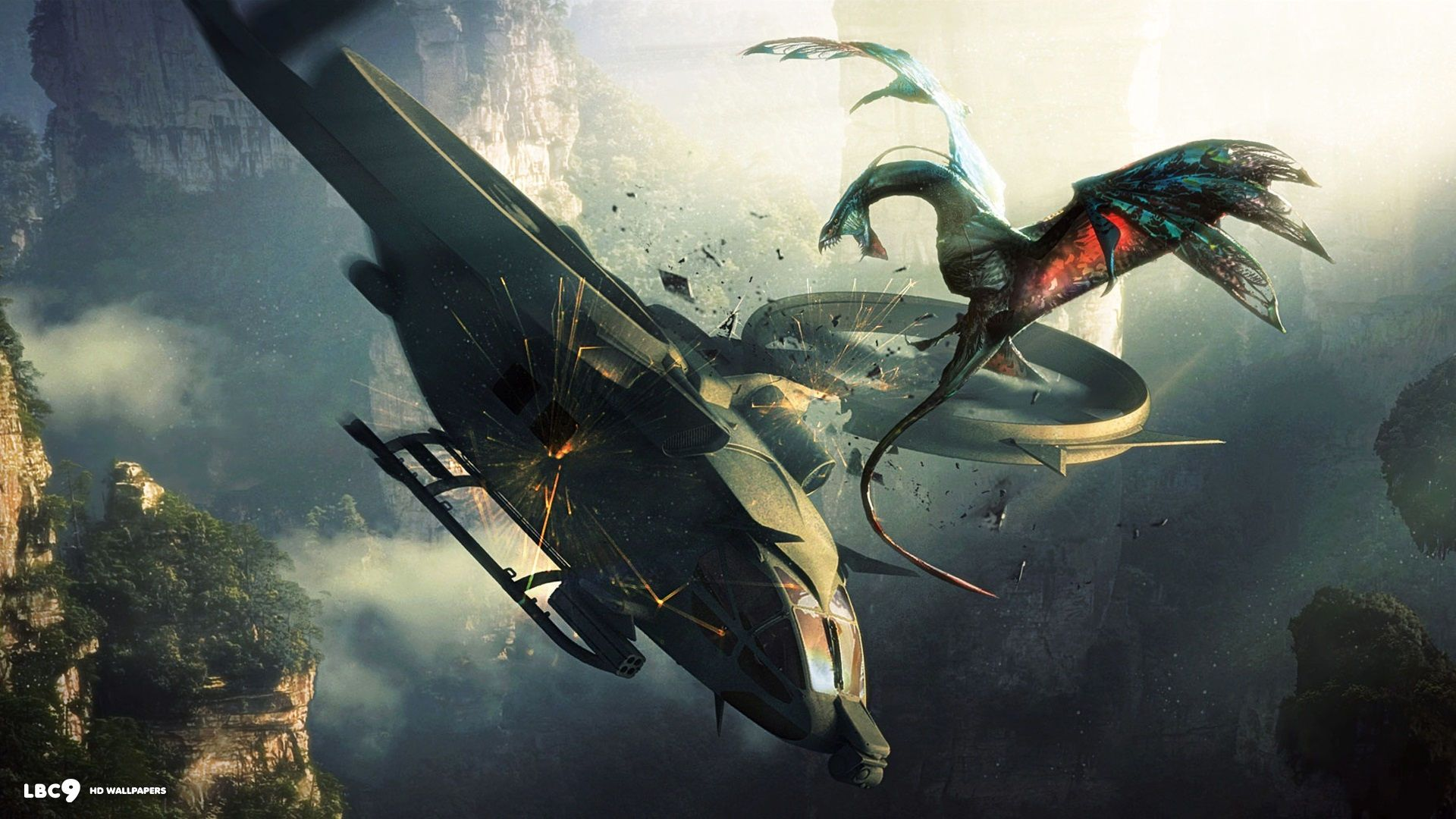 Avatar Movie Space Ships Wallpaper At Entertainment Wallpapers