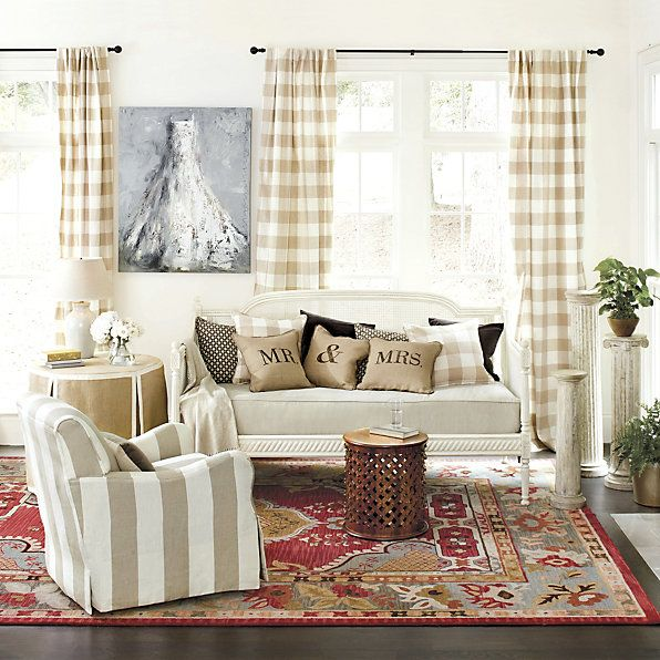 Autumn Oversize Plaid Throw Lewis Hand Hooked Rug