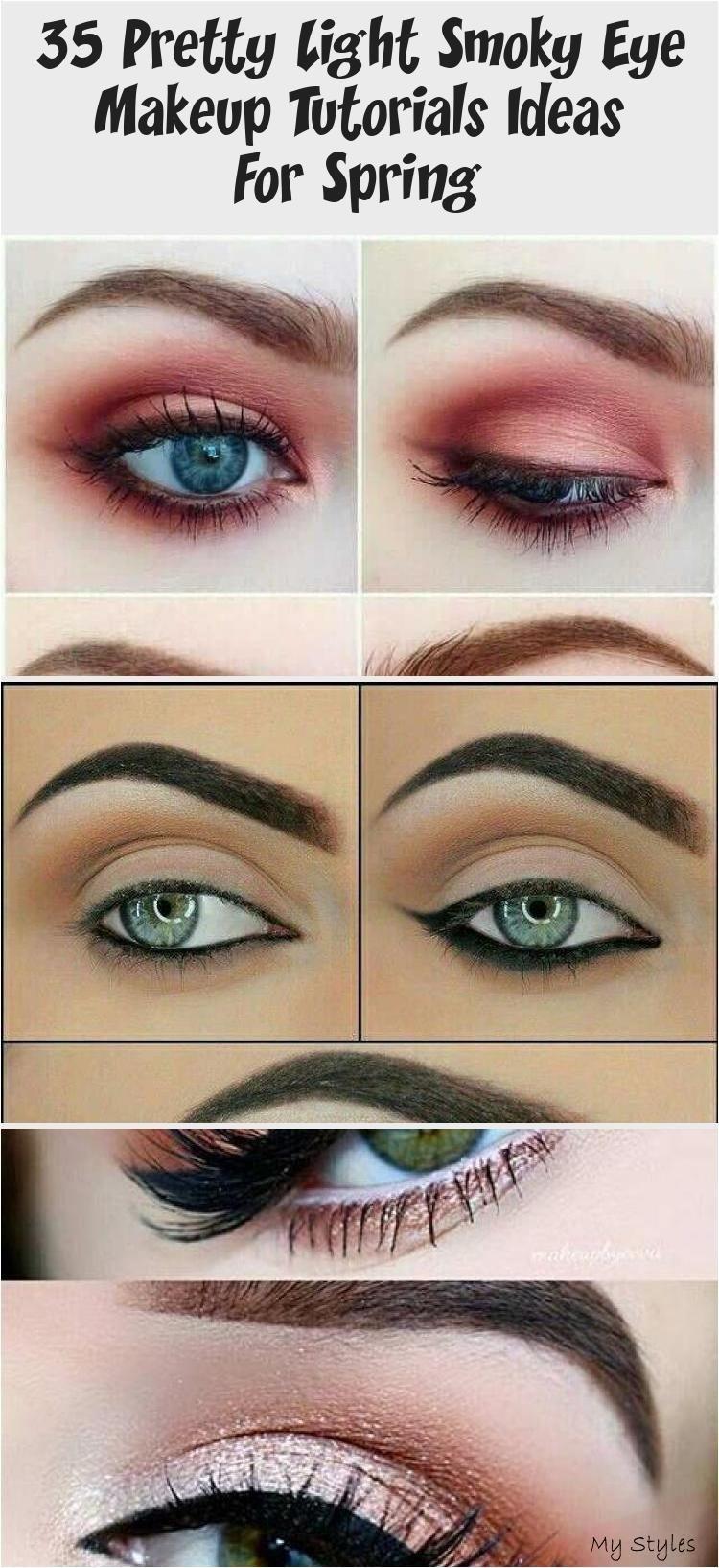35 Pretty Light Smoky Eye Makeup Tutorials Ideas For Spring