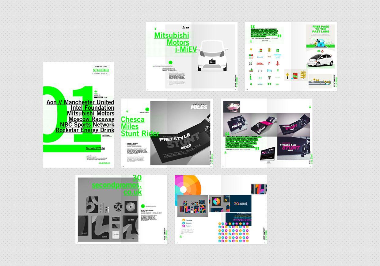 STUDIOJQ 2014 // Brand refresh & Portfolio Development by
